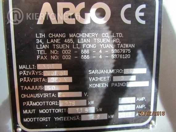 Työkalujyrsinkone Argo