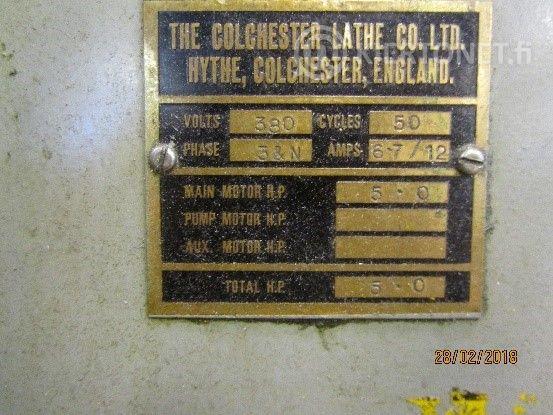 Kärkisorvi Colchester Master 2500