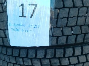 Kuorma-auton renkaat Bridgestone M 729 315/80 R 22,5 2 kpl.