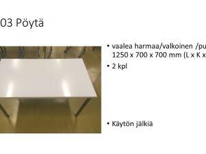 Pöytiä
