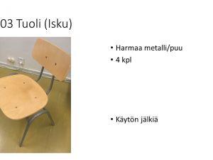 Tuoleja (Isku)