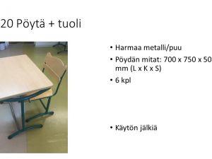 Tuoli+pulpetti