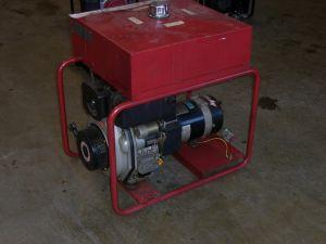 Poweri diesel aggregaatti, numero 10.