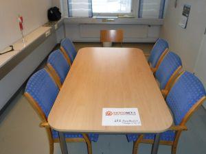 Neuvottelupöytä + 6 + 1 tuolia nro 87.3