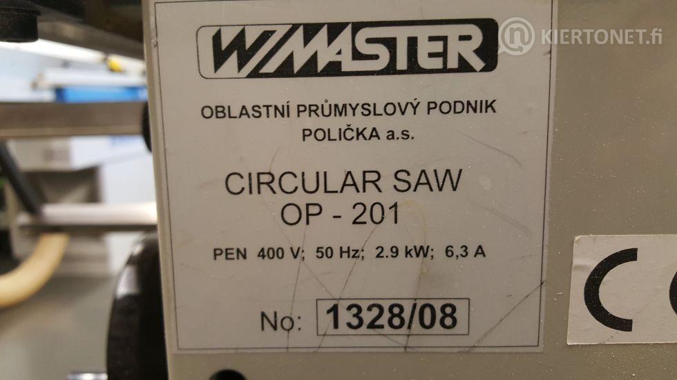 Pyörösaha WMaster OP-201 (nro5)