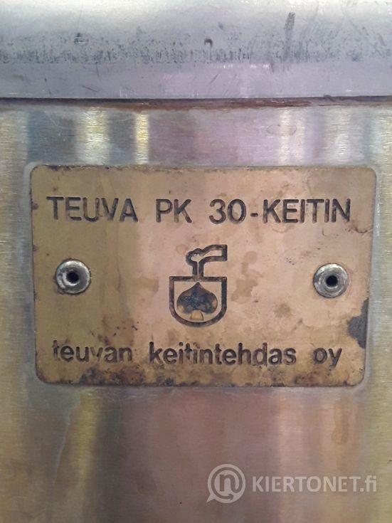 Nestekaasukäyttöinen Teuva PK 30-keitin, nro 2.