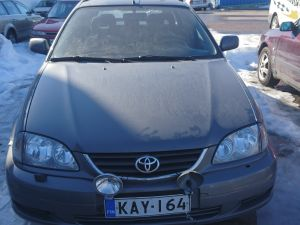 Toyota avensis 1.6 farmari