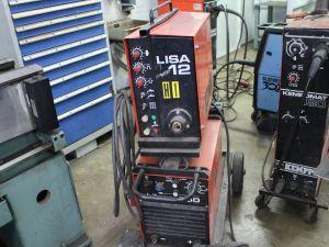 Mig- ja puikkohitsauskone Lisa12 ja Hilarc 250.