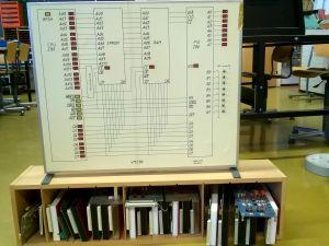 Prosessori/muistipiirien opetusväline
