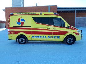 MB Sprinter ambulanssi, HUOM! Ilmoitusta päivitetty 4.5.2018! Lue kuvaus! (OUO-236)