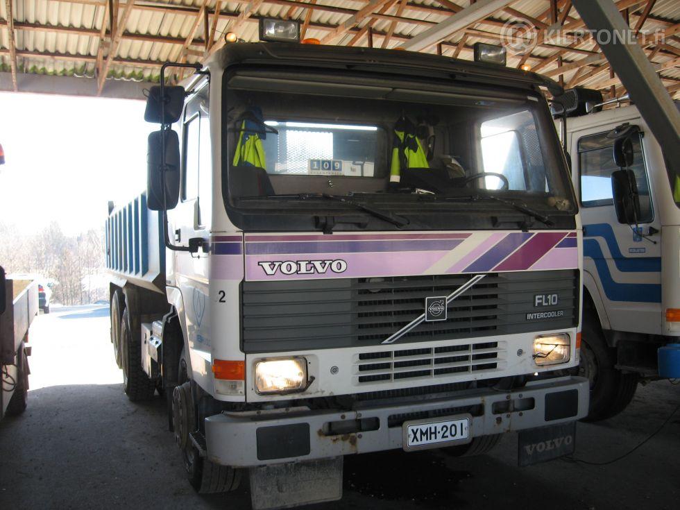 Volvo FL10- 6x2 (XMH-201) vm. 1990, aj. 408 000 km