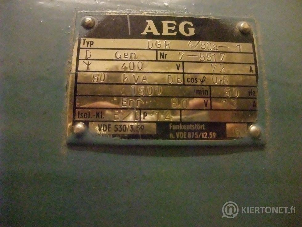 Sähköaggregaatti