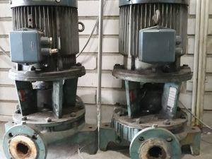 2 pumppua / sähkömoottoria