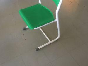 Vihreä tuoli 20kpl, SOK  Vaajakoski, retroa