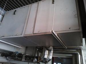 Tuloilmakone/lämmönvaihdin