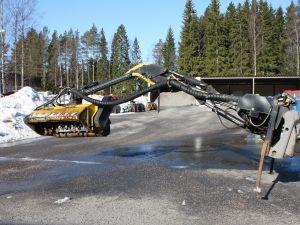 Luiskan niittokone, Ajo 400 puomisto / leikkuupää TM 150