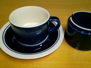 Arabia Kasino Sininen kahvikuppi
