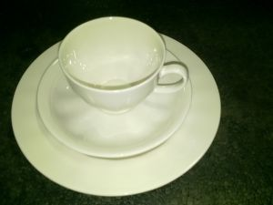 Kahvikuppi valkoinen ei Arabia