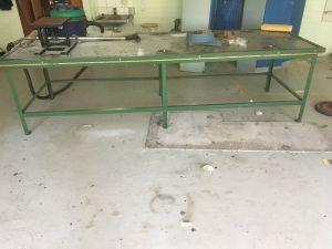 Pajapöytä, 100 x 300 cm