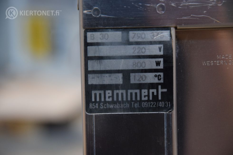 Lämpökaappi Memmert