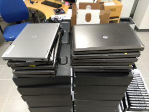 Kannettavia HP-tietokoneita