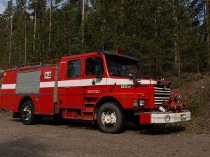 Scania sammutusauto MEA-201