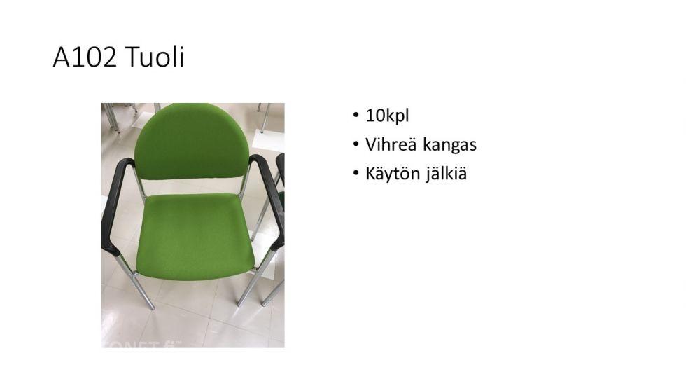 Tuoleja 10 kpl