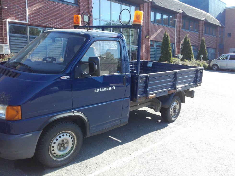 Pakettiauto Volkswagen Transporter 1.9