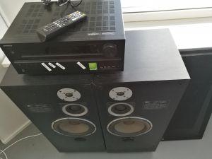 Onkyo TX-NR626 AV-vahvistin + BBX 485 S BR kaiuttimet
