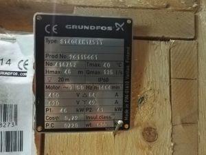 Grundfos pumppu