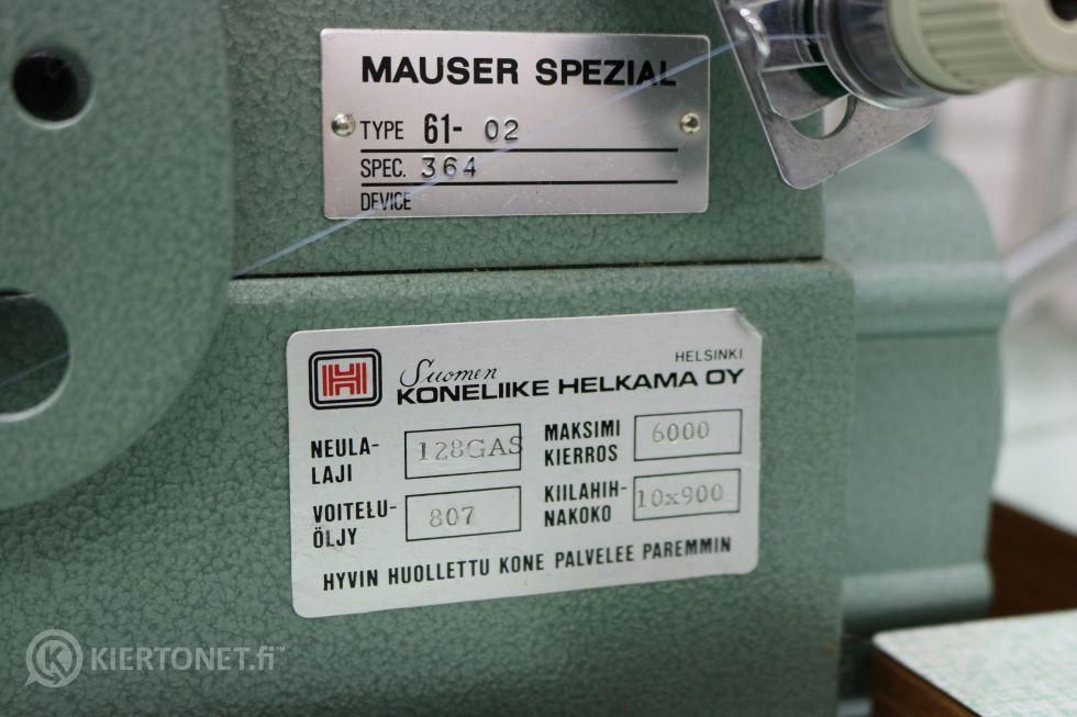 Tasosaumauskone Mauser Spezial nro 2.