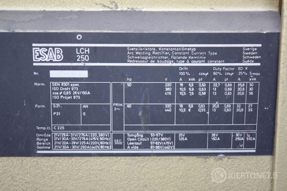Esab Lch 250