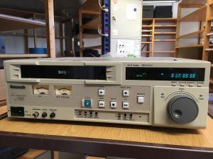Panasonic S-VHS nauhuri
