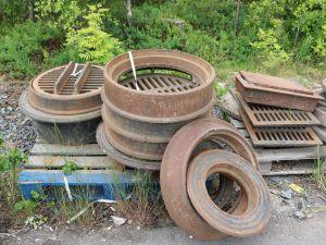 Kaivonkansia ja muuta rautaromua