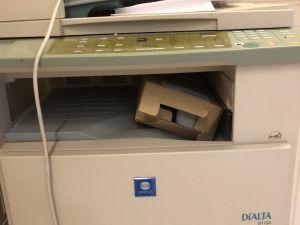 Koulukäytöstä poistuva tulostin