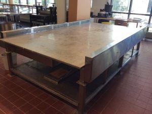 Kankaanpainopöytä