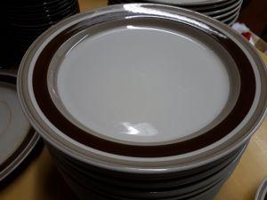 Arabian Pirtti matalia ruokalautasia 11 kpl (24cm halkaisija)