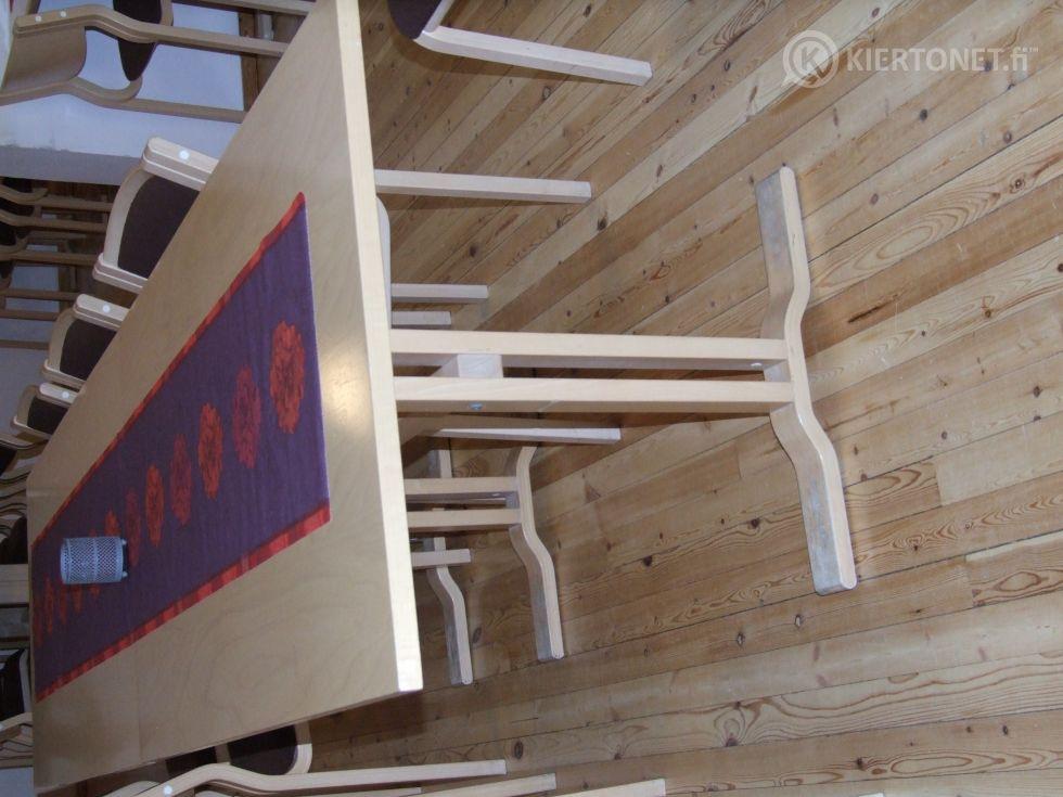 Pöytä 2 kpl (130x80cm)