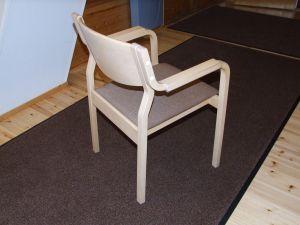 Käsinojallisia tuoleja 6 kpl