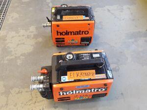 Polttomoottorikäyttöinen hydraulipumppu 2 kpl:n erä.