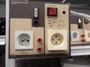Työpöydän suojajännitelähde  TEKLAB (SOP 300)24 V AC  2 kpl (7)