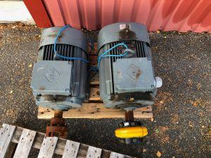 Sähkömoottorit 2kpl