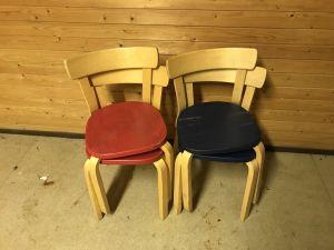 Tuolit 2 + 2 kpl