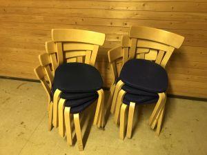 Tuolit 8 kpl
