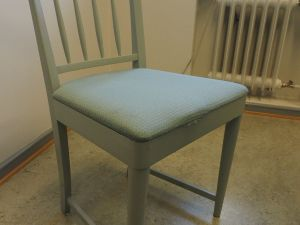 Tuoli, kangas, vihertävä harmaa, 1 kpl (3)