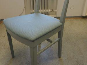Tuoli, kangas, vihertävä harmaa, 1 kpl (4)