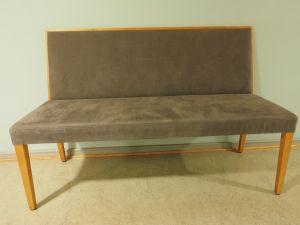 Sohva, verhoiltu, puu/harmaa, 8 kpl (1)