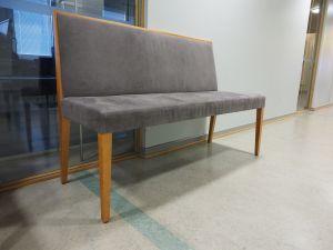 Sohva, verhoiltu, puu/harmaa, 6 kpl (1)