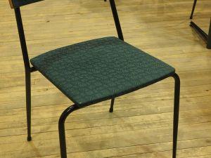 Tuoli, kangas, vihreä, 33 kpl (1)