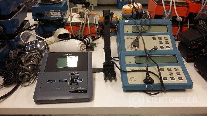 pH-mittareita